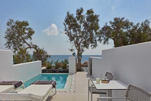 Beachfront Kamer met privézwembad