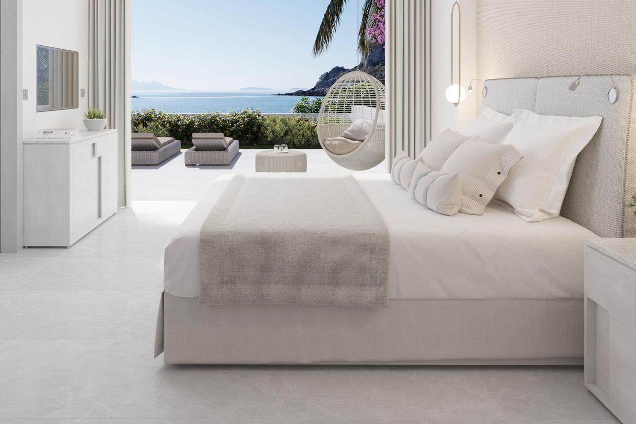 Suite (1 slaapkamer) - Zeezicht
