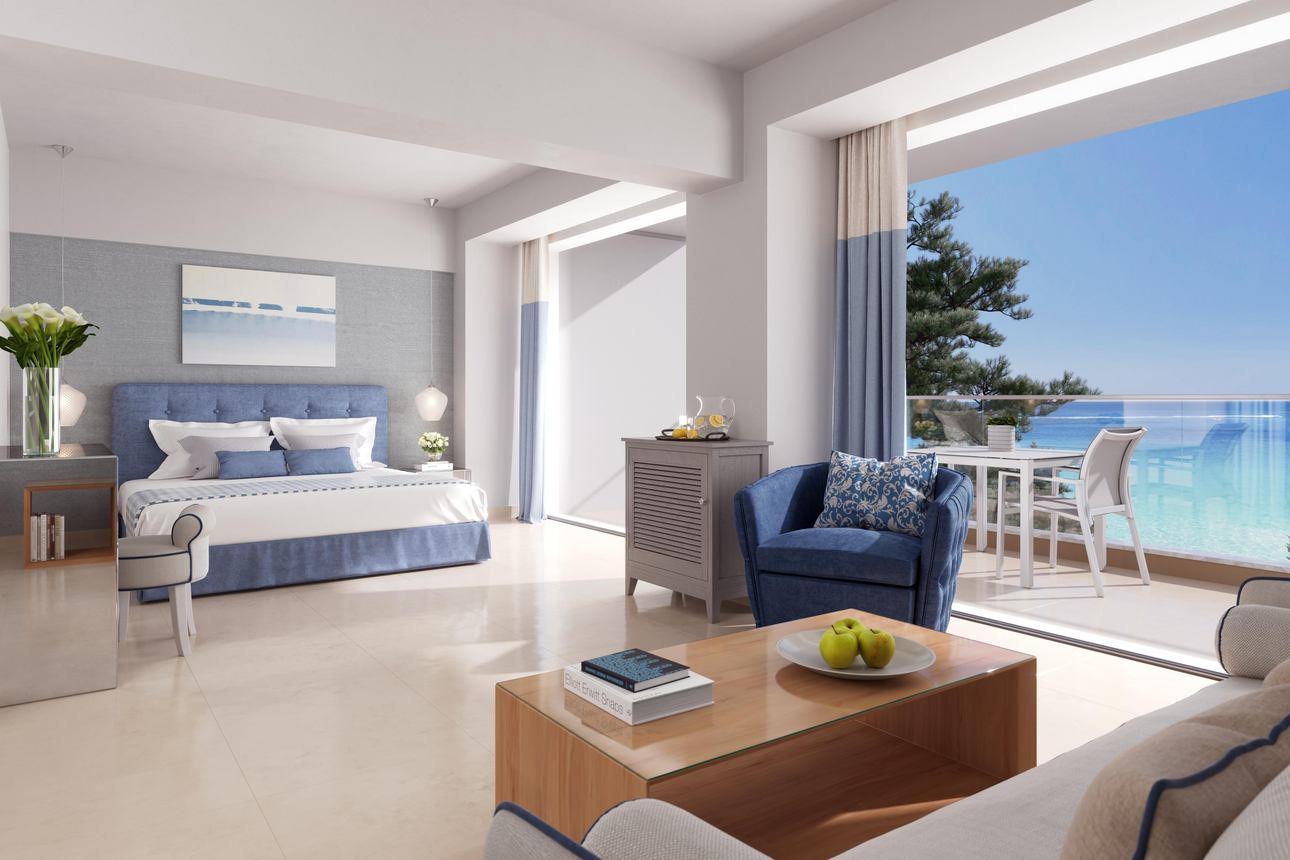 Panorama Junior Suite zeezicht met balkon