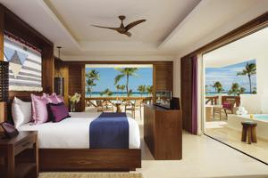Preferred Club Master Suite Frontaal Zeezicht
