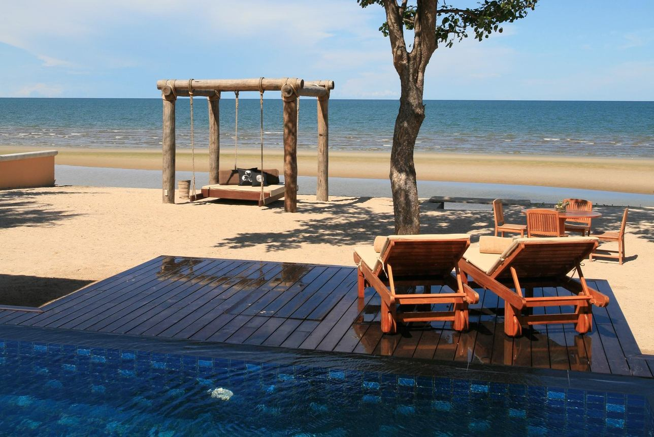 Beachfront Presidential Villa - 2 slaapkamers