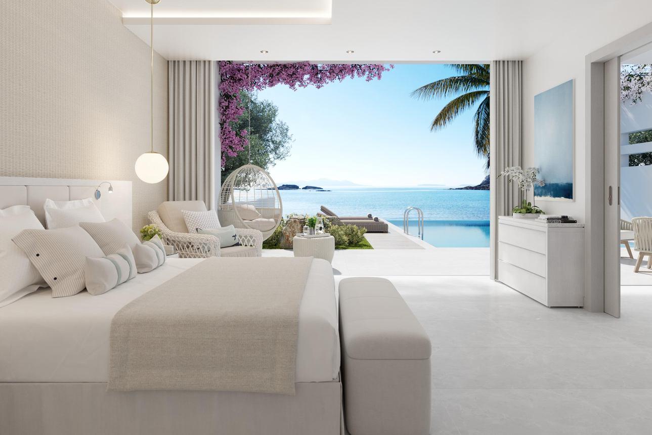 Deluxe (1 slaapkamer) Bungalow Suite Privézwembad