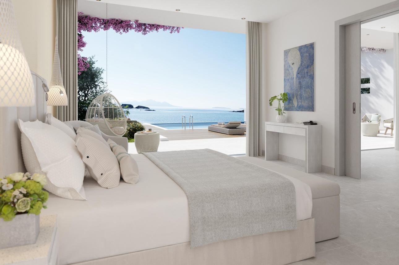 Deluxe (2 slaapkamers) Bungalow Suite Privézwembad
