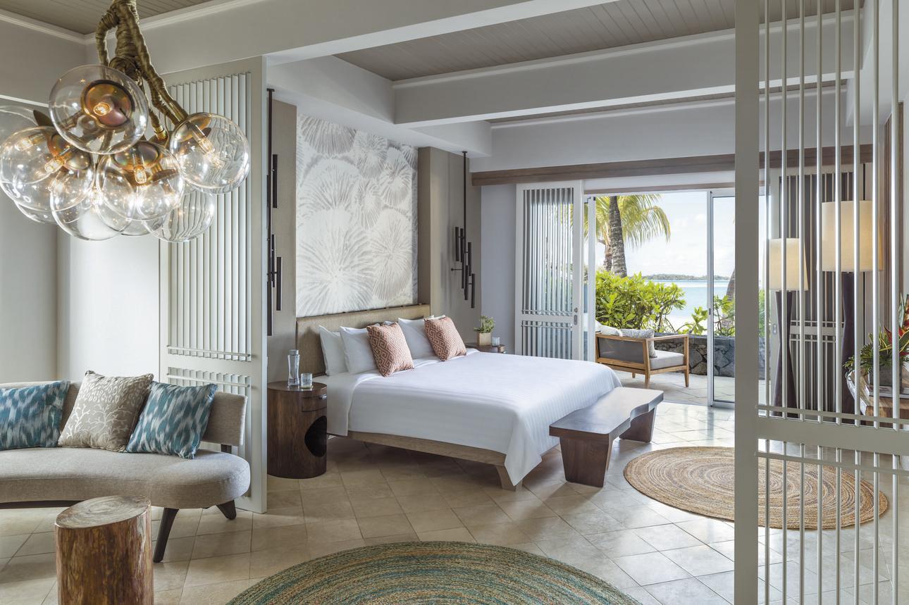 Frangipani Suite - 1 slaapkamer Zeezicht