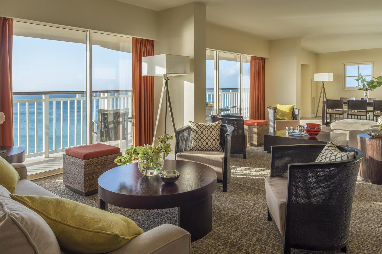 Ocean and Pool View Deluxe Suite