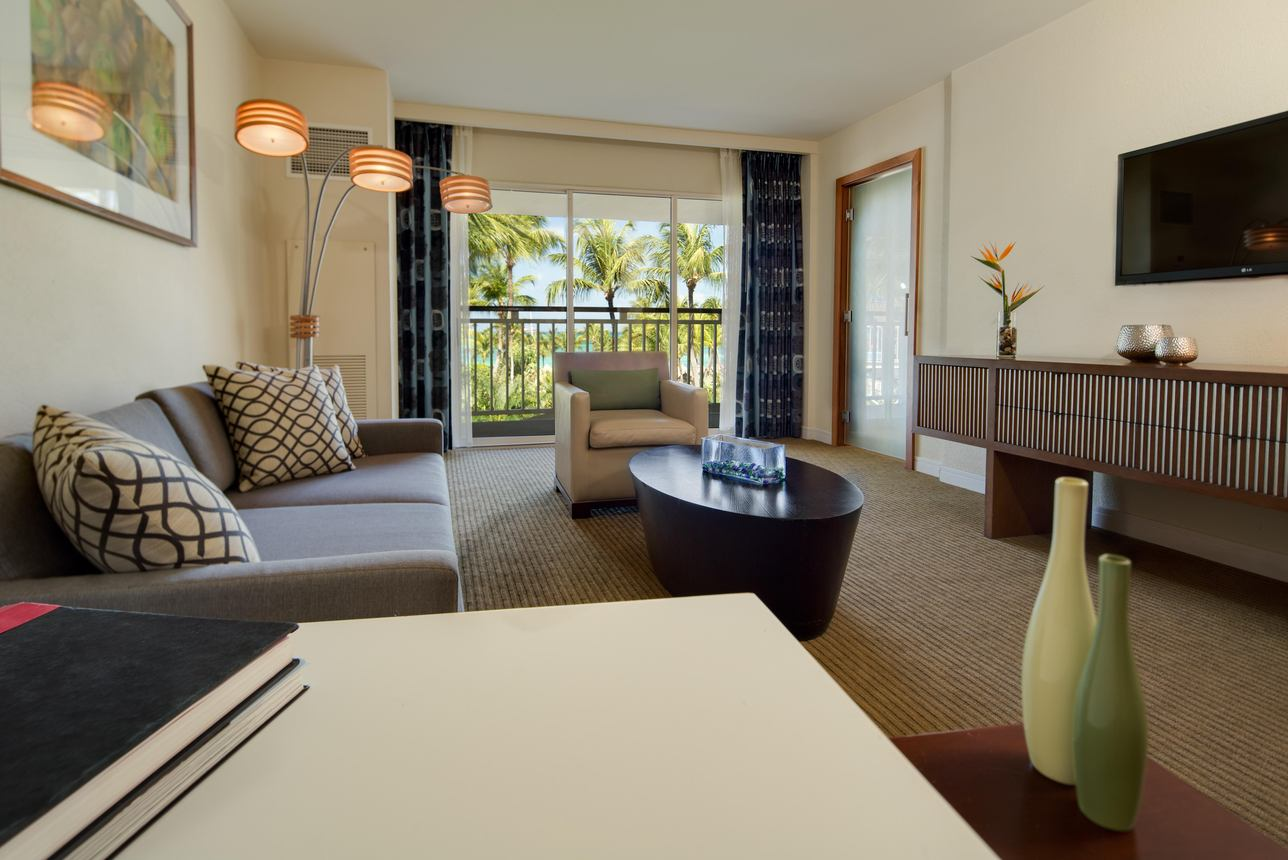 Garden and Pool View Executive Suite