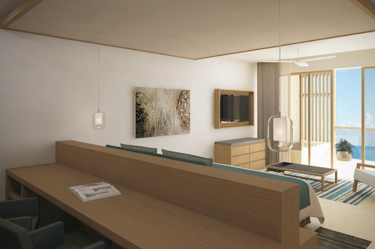 Preferred Club Master Suite Zeezicht