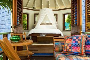 Tall Beach Hut