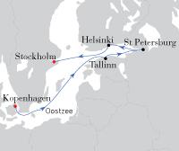 Kopenhagen - Stockholm