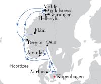 Kopenhagen - Molde - Kopenhagen