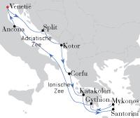 Venetie-Mykonos-Venetie